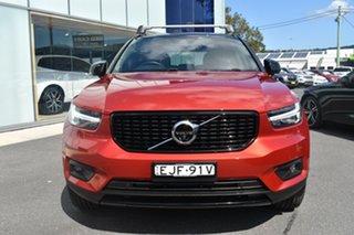 2020 Volvo XC40 XZ MY20 T5 AWD R-Design Red 8 Speed Sports Automatic Wagon