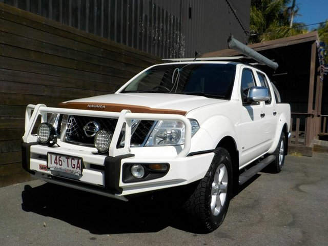 Used Nissan Navara D40 S5 MY12 ST-X Labrador, 2013 Nissan Navara D40 S5 MY12 ST-X White 7 Speed Sports Automatic Utility