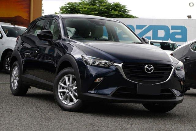 New Mazda CX-3 DK2W7A Maxx SKYACTIV-Drive FWD Sport LE Waitara, 2021 Mazda CX-3 DK2W7A Maxx SKYACTIV-Drive FWD Sport LE Blue 6 Speed Sports Automatic Wagon
