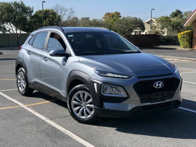 Used Hyundai Kona OS.3 MY20 Go 2WD Chermside, 2019 Hyundai Kona OS.3 MY20 Go 2WD Grey 6 Speed Sports Automatic Wagon