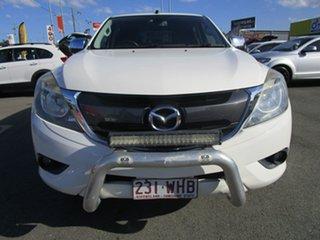 2015 Mazda BT-50 UR0YF1 XTR White 6 Speed Sports Automatic Utility