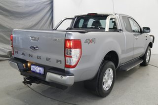 2017 Ford Ranger PX MkII XLT Double Cab Silver 6 Speed Manual Utility