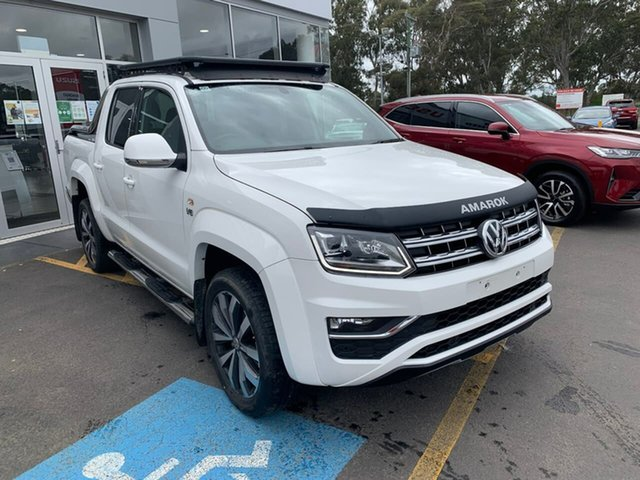 Used Volkswagen Amarok 2H MY19 TDI580 4MOTION Perm Ultimate Epsom, 2018 Volkswagen Amarok 2H MY19 TDI580 4MOTION Perm Ultimate White 8 Speed Automatic Utility