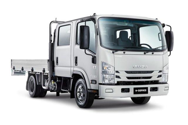 New Isuzu N Series Derrimut, 2021 Isuzu N Series NNR 45-150 Crew Traypack Automated Manual Transmission