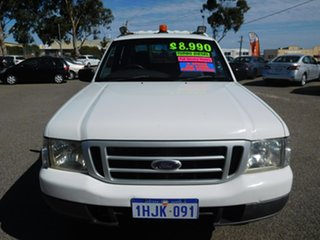 2006 Ford Courier PH (Upgrade) GL Crew Cab White 5 Speed Manual Cab Chassis.