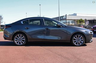 2021 Mazda 3 BP2SLA G25 SKYACTIV-Drive Evolve Grey 6 Speed Sports Automatic Sedan