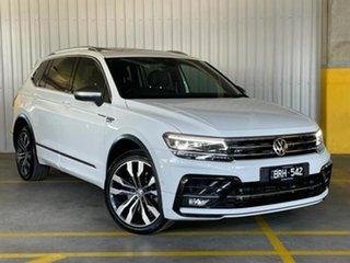 2019 Volkswagen Tiguan 5N MY19.5 162TSI Highline DSG 4MOTION Allspace White 7 Speed.
