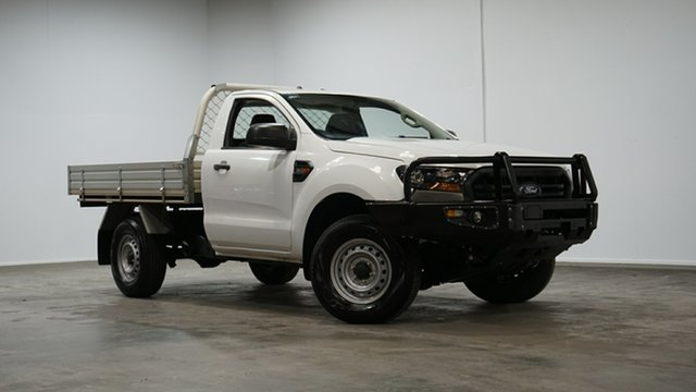 Used Ford Ranger PX MkIII 2019.00MY XL Welshpool, 2018 Ford Ranger PX MkIII 2019.00MY XL White 6 Speed Manual Cab Chassis