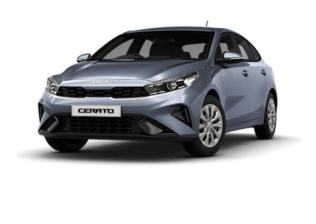 New Kia Cerato BD MY22 S Cardiff, 2021 Kia Cerato BD MY22 S Horizon Blue 6 Speed Sports Automatic Hatchback