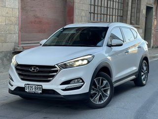 2017 Hyundai Tucson TLe MY17 Elite 2WD Pure White 6 Speed Sports Automatic Wagon.