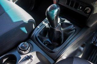 2015 Mitsubishi Triton MQ MY16 GLX White 6 Speed Manual Cab Chassis