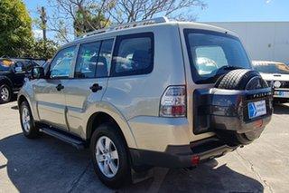 2008 Mitsubishi Pajero NS GLX Gold 5 Speed Sports Automatic Wagon