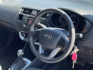 2013 Kia Rio UB MY14 S Black 4 Speed Sports Automatic Hatchback