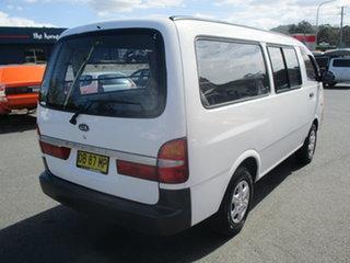 2003 Kia Pregio 3VRS White 5 Speed Manual Van.