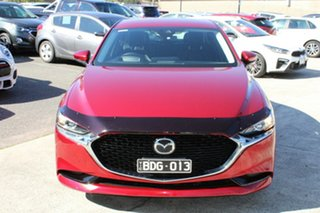 2019 Mazda 3 BP2SLA G25 SKYACTIV-Drive GT Red 6 Speed Sports Automatic Sedan.