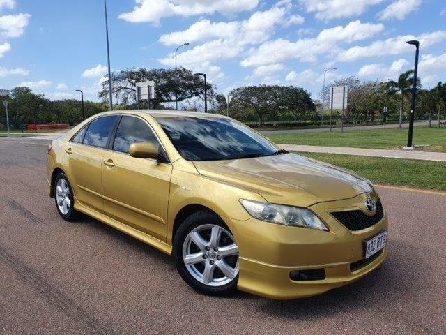 Used Toyota Camry ACV40R Sportivo Townsville, 2006 Toyota Camry ACV40R Sportivo Gold 5 Speed Automatic Sedan