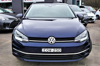 2019 Volkswagen Golf 7.5 MY19.5 110TSI DSG Comfortline Blue 7 Speed Sports Automatic Dual Clutch.