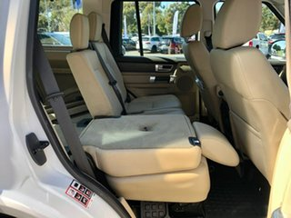 2014 Land Rover Discovery Series 4 L319 MY14 SDV6 SE White 8 Speed Sports Automatic Wagon