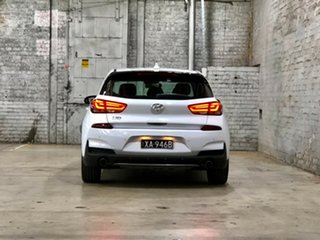 2019 Hyundai i30 PD.3 MY19 N Line D-CT White 7 Speed Sports Automatic Dual Clutch Hatchback