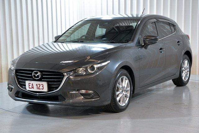 Used Mazda 3 BM5478 Touring SKYACTIV-Drive Hendra, 2016 Mazda 3 BM5478 Touring SKYACTIV-Drive Grey 6 Speed Sports Automatic Hatchback