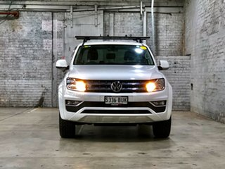 2017 Volkswagen Amarok 2H MY17.5 TDI550 4MOTION Perm Sportline White 8 Speed Automatic Utility.
