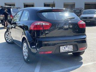 2013 Kia Rio UB MY14 S Black 4 Speed Sports Automatic Hatchback.