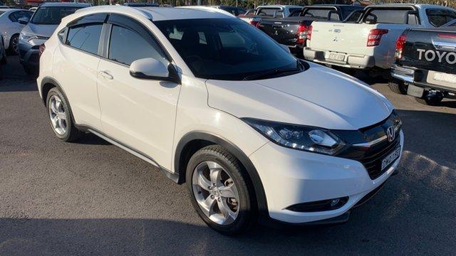 Used Honda HR-V MY17 VTi-S Maitland, 2018 Honda HR-V MY17 VTi-S Taffeta White 1 Speed Constant Variable Hatchback