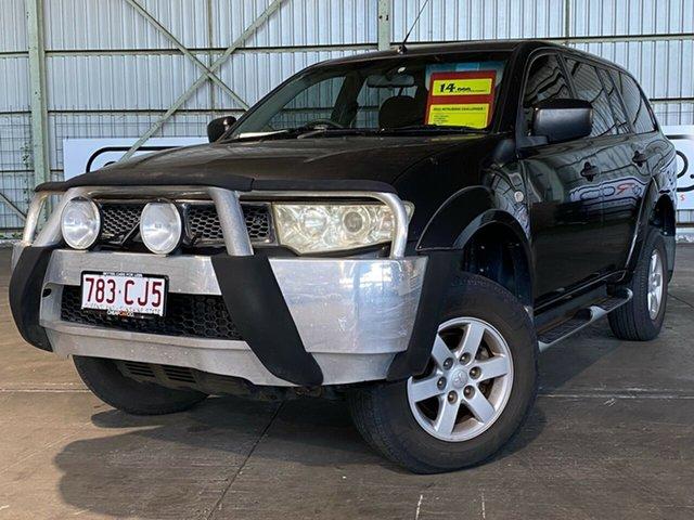 Used Mitsubishi Challenger PB (KG) MY13 2WD Rocklea, 2012 Mitsubishi Challenger PB (KG) MY13 2WD Grey 5 Speed Sports Automatic Wagon