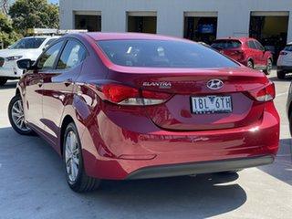 2013 Hyundai Elantra MD3 Trophy Firey Red 6 Speed Sports Automatic Sedan.