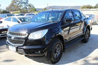 2013 Holden Colorado RG MY13 LT Crew Cab Black 6 Speed Sports Automatic Utility.