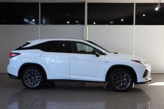 2020 Lexus RX GGL25R RX350 F Sport White 8 Speed Sports Automatic Wagon.