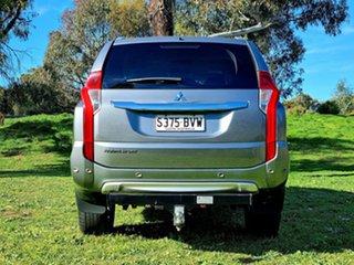 2016 Mitsubishi Pajero Sport QE MY16 Exceed Titanium Grey 8 Speed Sports Automatic Wagon
