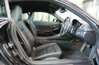 2014 Porsche Cayman 981 PDK Black 7 Speed Sports Automatic Dual Clutch Coupe