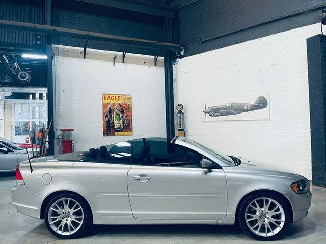 Used Volvo C70 M Series MY07 T5 Port Melbourne, 2007 Volvo C70 M Series MY07 T5 Silver 5 Speed Sports Automatic Convertible