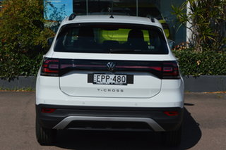2021 Volkswagen T-Cross C1 MY21 85TSI DSG FWD Life Pure White 7 Speed Sports Automatic Dual Clutch