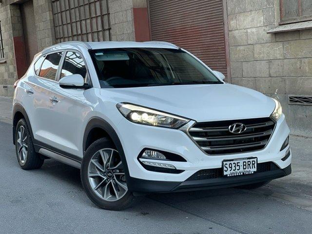 Used Hyundai Tucson TLe MY17 Elite 2WD Cheltenham, 2017 Hyundai Tucson TLe MY17 Elite 2WD Pure White 6 Speed Sports Automatic Wagon