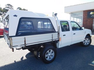 2006 Ford Courier PH (Upgrade) GL Crew Cab White 5 Speed Manual Cab Chassis