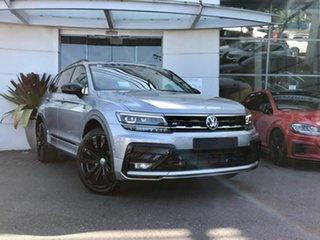 2021 Volkswagen Tiguan 5N MY21 162TSI Wolfsburg Edition DSG 4MOTION Allspace Pyrite Silver 7 Speed.