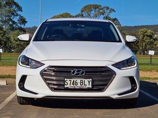 2015 Hyundai Elantra AD MY17 Active White 6 Speed Sports Automatic Sedan.