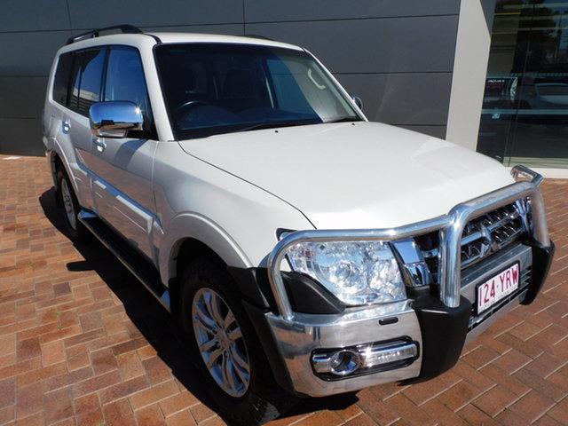 Used Mitsubishi Pajero NX MY18 GLS Toowoomba, 2018 Mitsubishi Pajero NX MY18 GLS White 5 Speed Sports Automatic Wagon