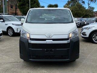 2021 Toyota HiAce GDH300R LWB French Vanilla 6 Speed Automatic Van