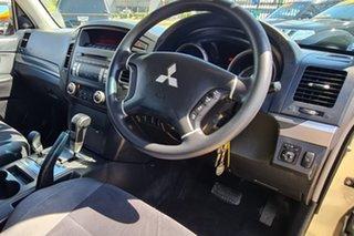 2008 Mitsubishi Pajero NS GLX Gold 5 Speed Sports Automatic Wagon.