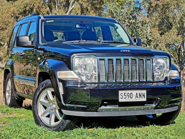Used Jeep Cherokee KK MY11 Limited Morphett Vale, 2010 Jeep Cherokee KK MY11 Limited Black 4 Speed Automatic Wagon