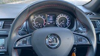 2016 Skoda Rapid NH MY17 Monte Carlo Spaceback Black 6 Speed Manual Hatchback