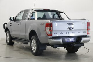 2017 Ford Ranger PX MkII XLT Double Cab Silver 6 Speed Manual Utility.