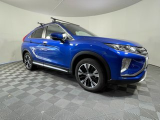 2020 Mitsubishi Eclipse Cross YB MY21 Exceed AWD Blue 8 Speed Constant Variable Wagon