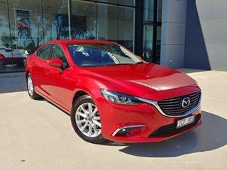 2015 Mazda 6 GJ1032 Touring SKYACTIV-Drive Red 6 Speed Sports Automatic Sedan.