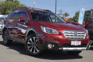 2017 Subaru Outback B6A MY18 2.5i CVT AWD Premium Red 7 Speed Constant Variable Wagon.