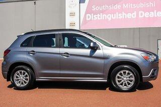 2011 Mitsubishi ASX XA MY11 2WD Grey 5 Speed Manual Wagon.