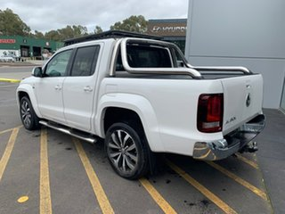 2018 Volkswagen Amarok 2H MY19 TDI580 4MOTION Perm Ultimate White 8 Speed Automatic Utility.